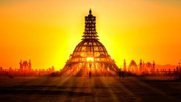 Sunrise on Temple of Grace